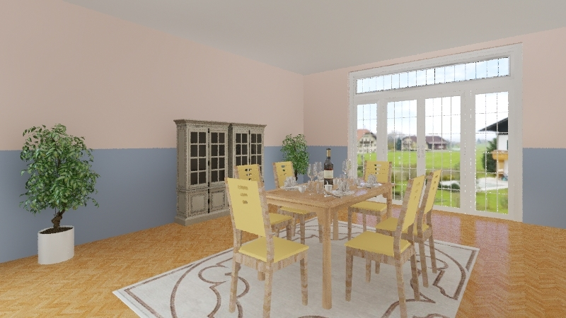 Tons Pasteis Interior Design Render