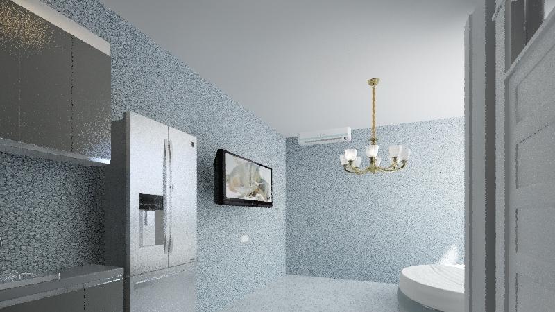 aparment darrell Interior Design Render