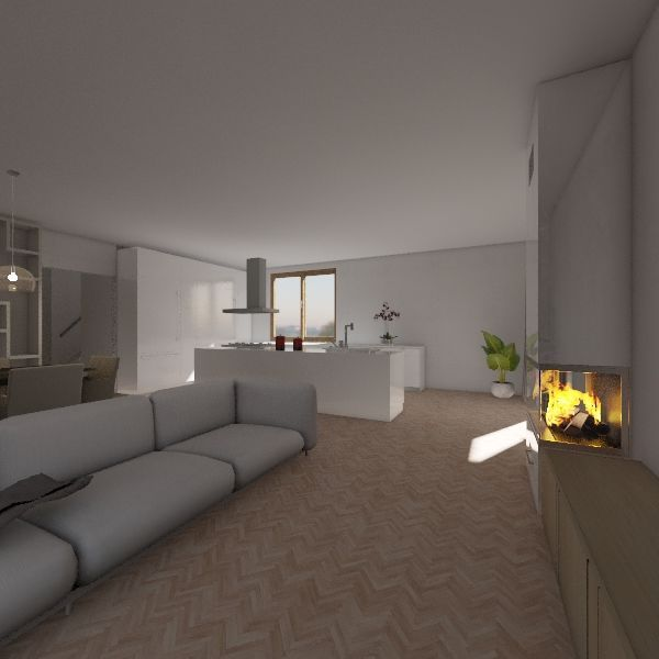 Plán Interior Design Render
