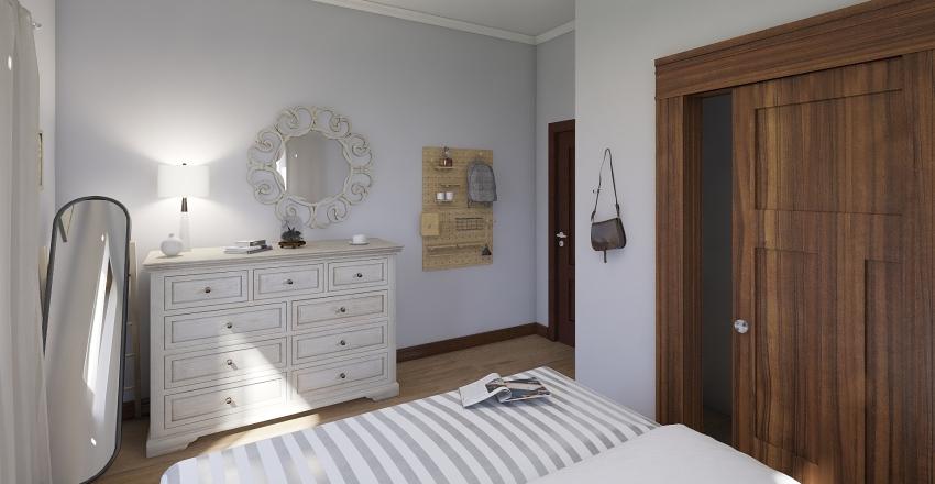 Blue Shale Home Interior Design Render