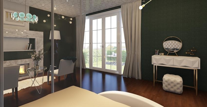 Classical home Interior Design Render