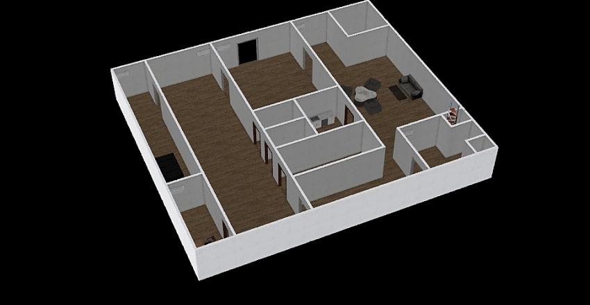 3D DATA CENTER Interior Design Render