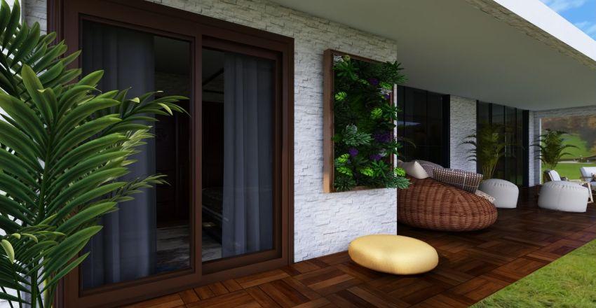 Portal Nossa Terra - Casa Principal Interior Design Render
