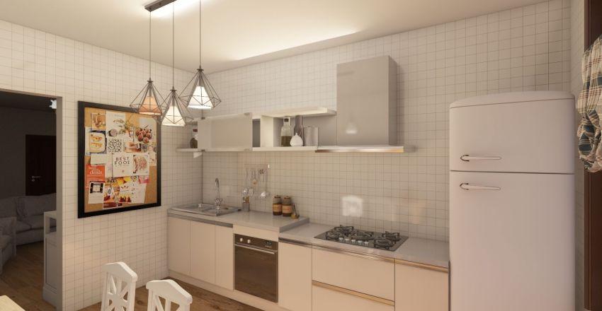 дом в америке Interior Design Render