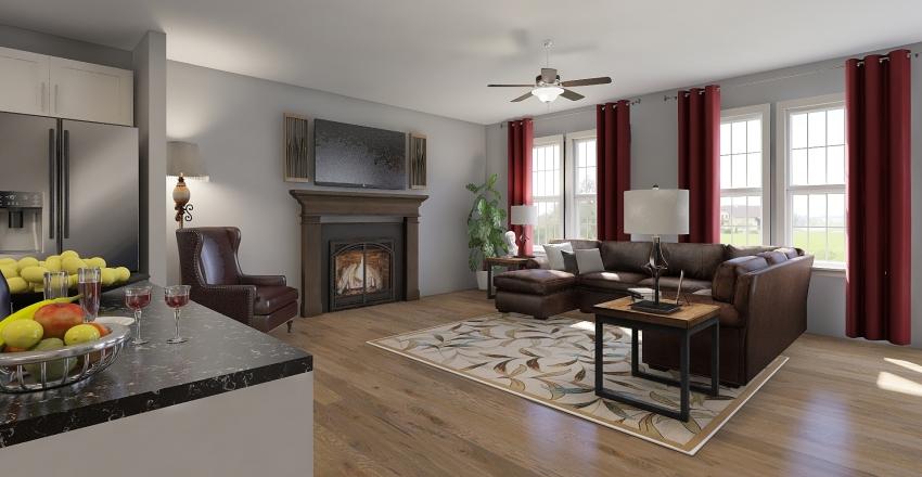 Christoval  Interior Design Render