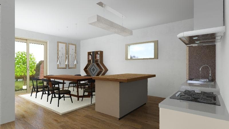 HIŠA 20 Interior Design Render