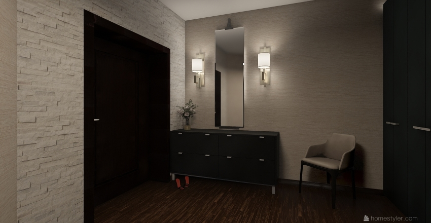 Проект квартиры №1 Interior Design Render
