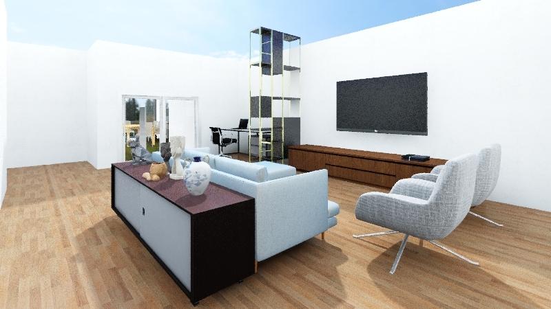 PROJETO ARQUIPELAGO Interior Design Render