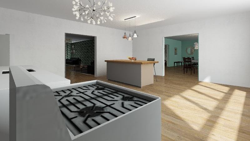 OliviaRonaldMcDonald Interior Design Render