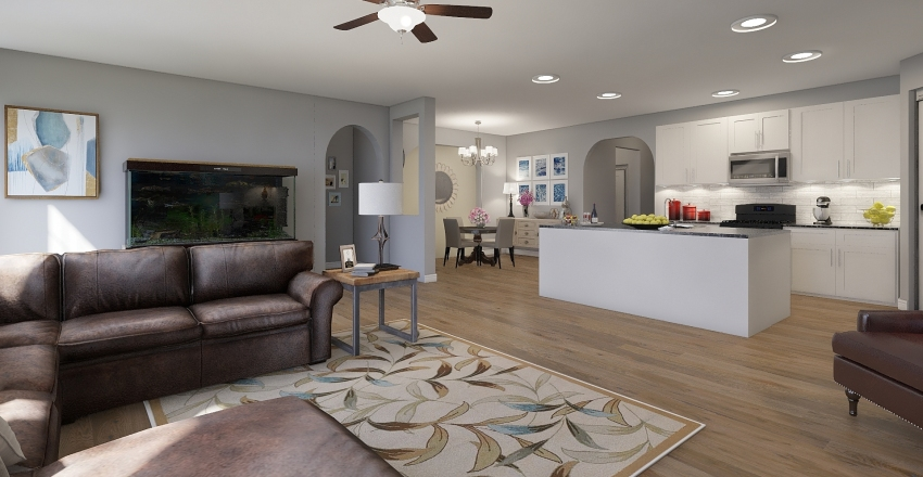 Christoval  Interior Design Render