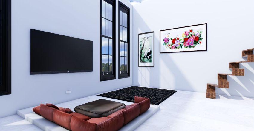 New York Penthouse 1 Interior Design Render