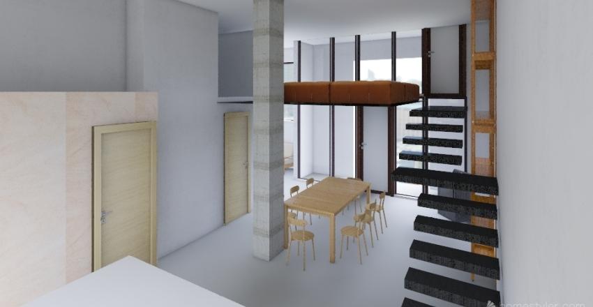 Isola 200 per stefano Interior Design Render