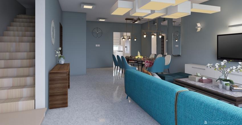 Modern Elegant Interior Interior Design Render
