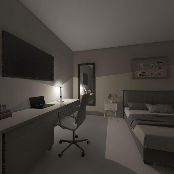 Quarto da Gabi Interior Design Render