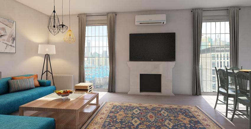 First Flat Interior Design Render