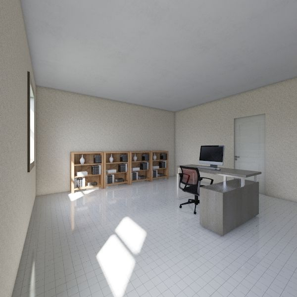 School hall project  Interior Design Render