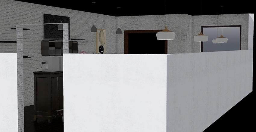 coffe Interior Design Render