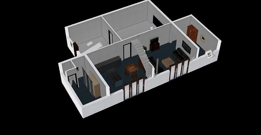 Maison Saint Rémy RDC V0 Interior Design Render