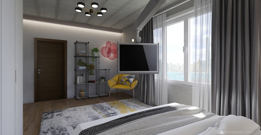 solo apartament  Interior Design Render