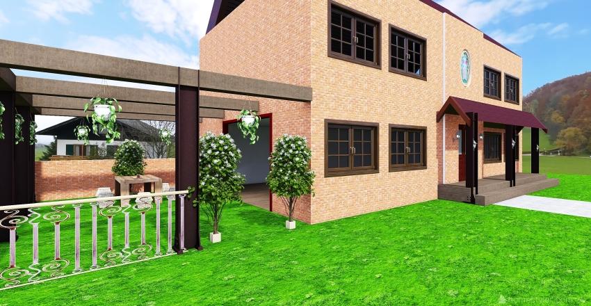 tapioca villa Interior Design Render