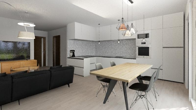 Platinum na gotowo Interior Design Render