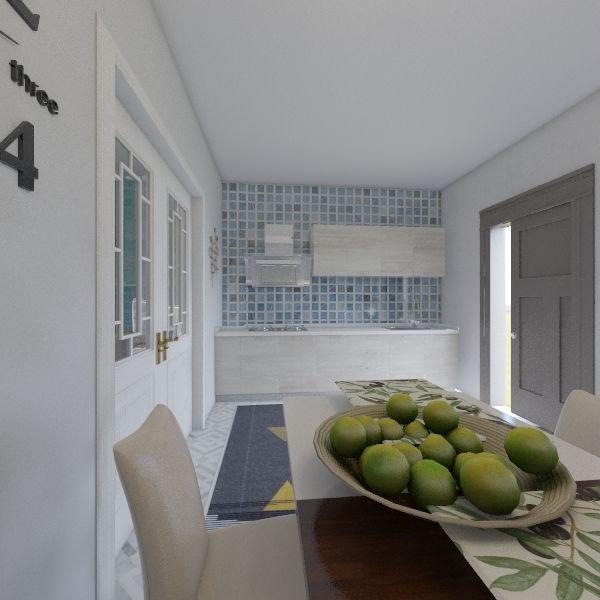 casa somcuta Interior Design Render
