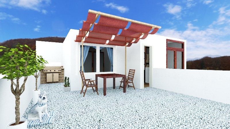 Casa Planta alta Interior Design Render