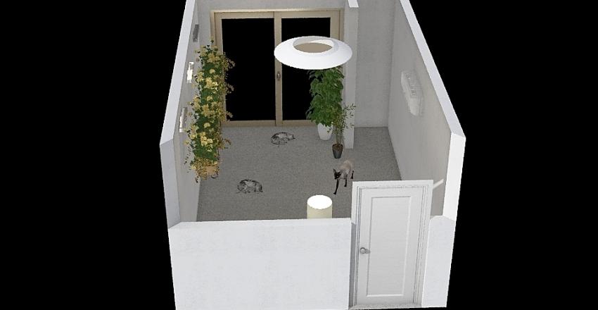 CAT CLUB Interior Design Render