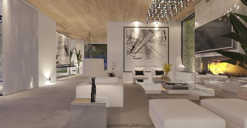 Casa planta baja Interior Design Render
