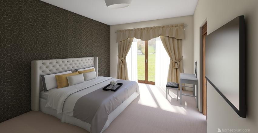 CAMERA PADRONALE Interior Design Render