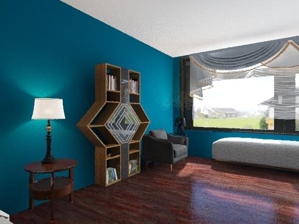 Modern City House Interior Design Render