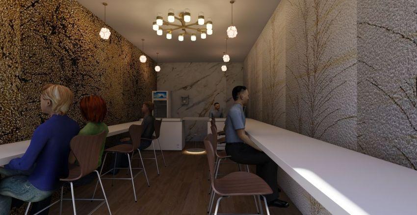 Icecream Parlour 1 Interior Design Render