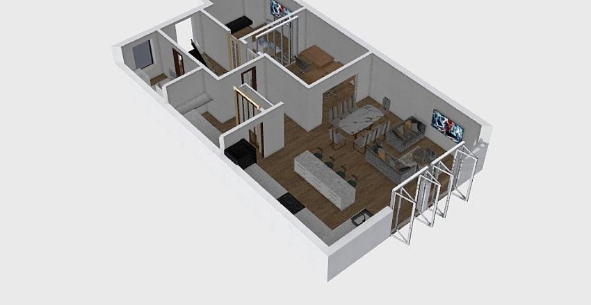 Rachel Dell Interior Design Render