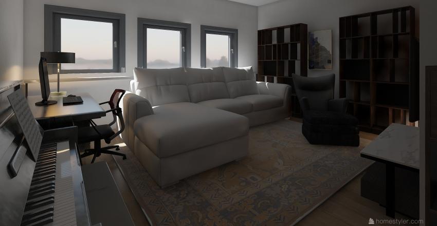 Unsere Wohnung Interior Design Render