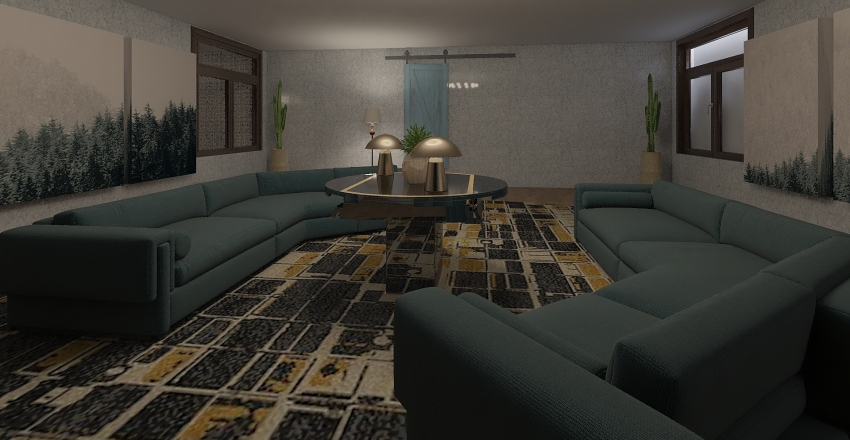Ryder Ronald Mcdonald Interior Design Render
