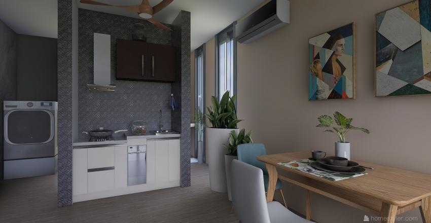 4x8 Estudio Tulum Interior Design Render