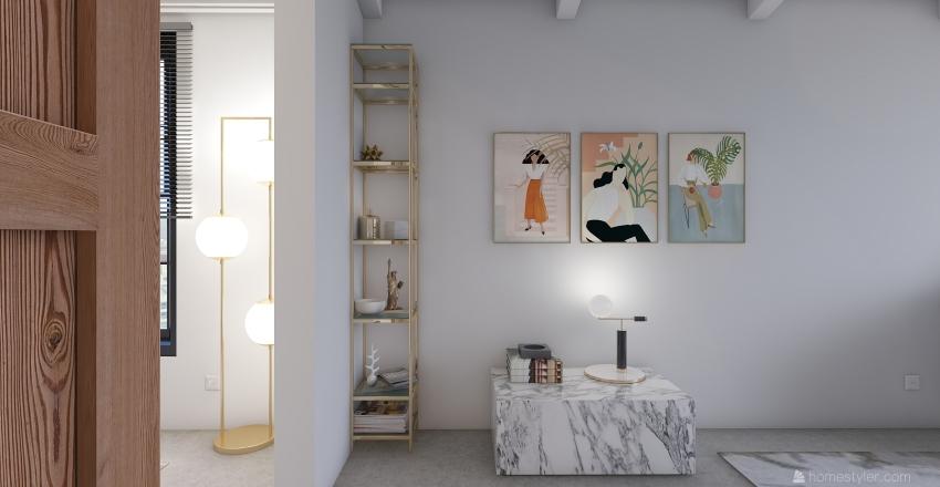 Piso en Sidney Interior Design Render