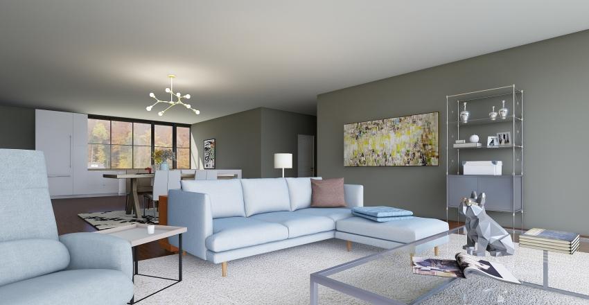Artist Condo Interior Design Render