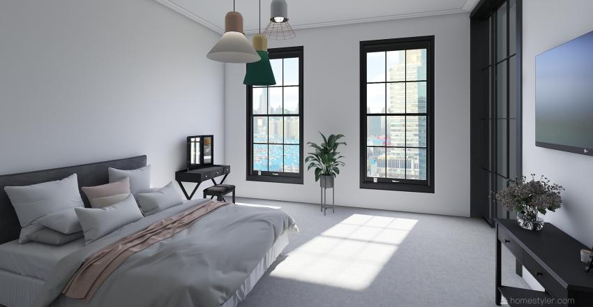 the Loft-Studio Interior Design Render
