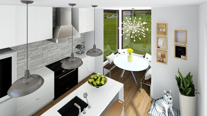 Luxury Kitchen (in progress) Interior Design Render
