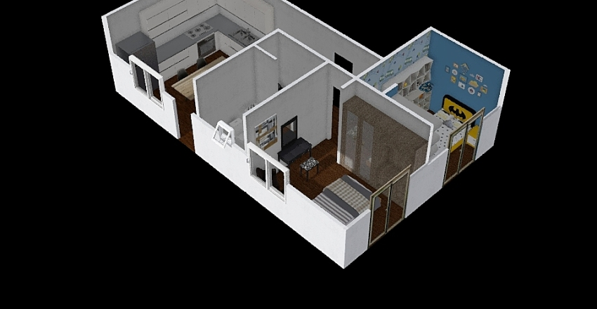 casa L2 Interior Design Render