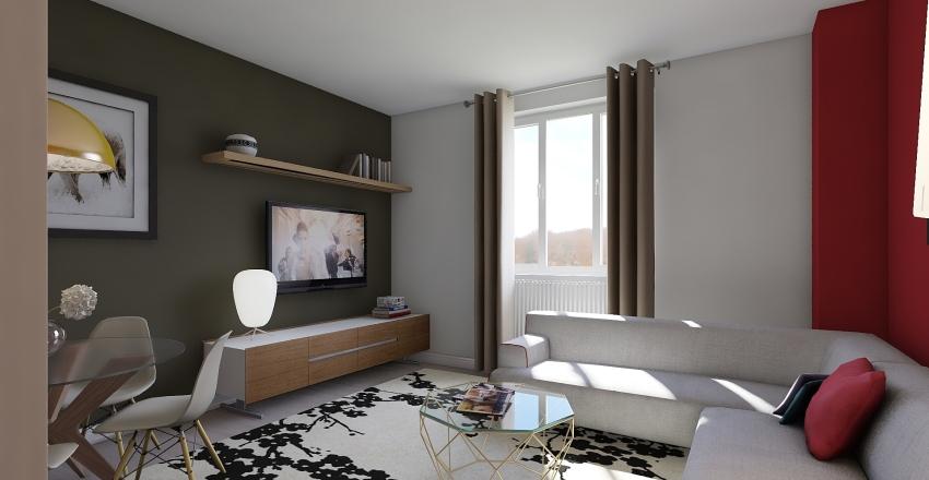 Casa Giulia Interior Design Render