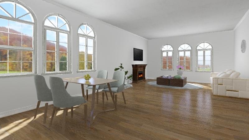 Treehouse Sketch 2 Interior Design Render