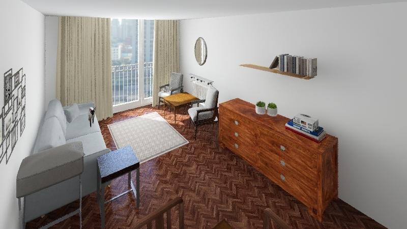 Jana Pawła II 20 - poziom średni Interior Design Render