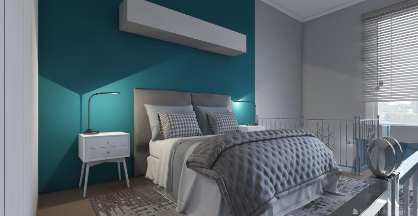 suite hotel Interior Design Render