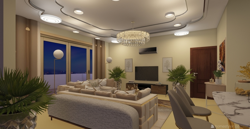 oso 2 Interior Design Render