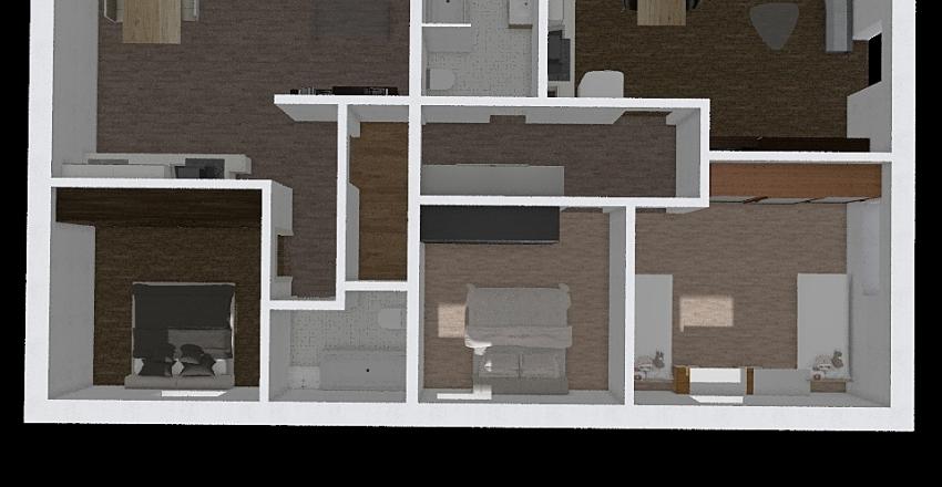 Rejsice 36 patro Interior Design Render