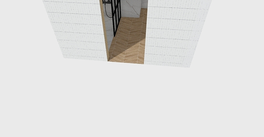 Łazienka zielona Interior Design Render