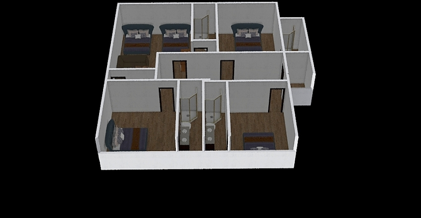 402 Upstairs changed 3 Interior Design Render
