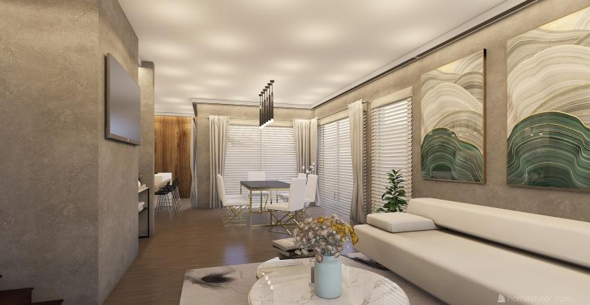 REMODELACION CASITA Interior Design Render